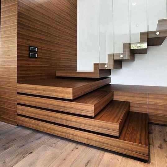 Best 25 gradas de madera ideas on pinterest barandales for Gradas de madera para escaleras