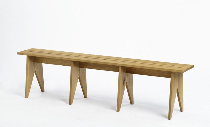 pew made from oak