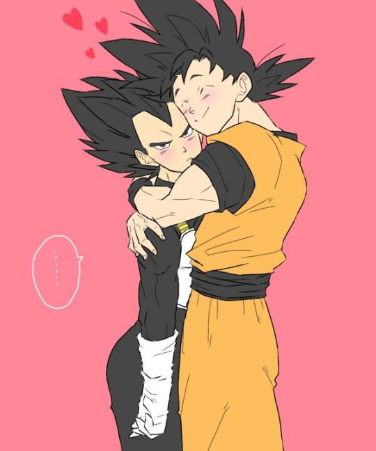 "Vegeta and Goku ""I'm going to punch you kakarot"""