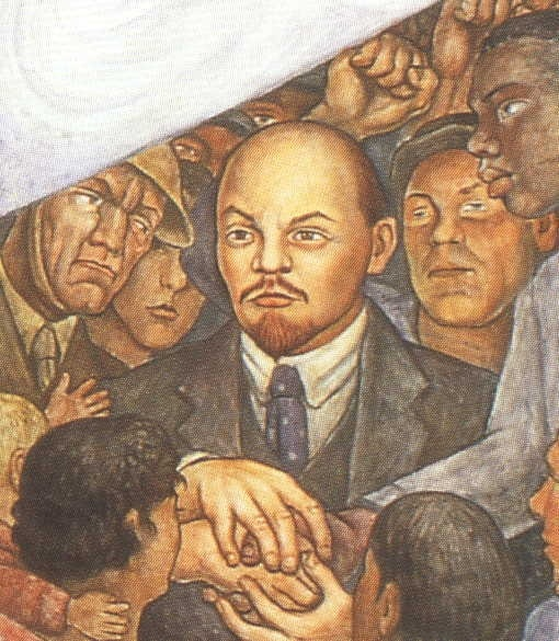 112 best diego rivera images on pinterest for Diego rivera lenin mural