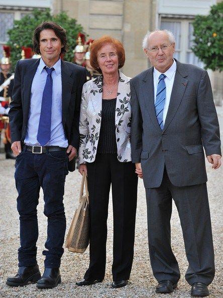 Les Klarsfeld et leur  fils