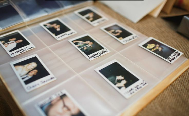 Polaroid message board | Four Leaf Styling | Justin Hill Photography