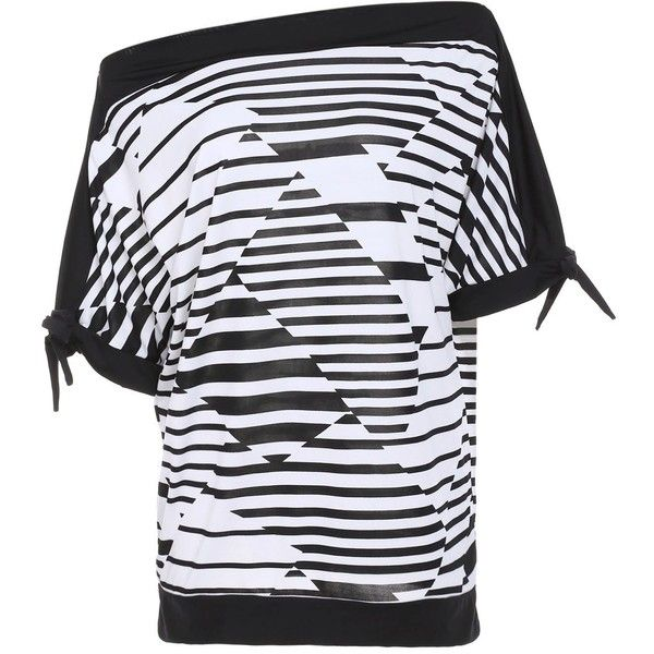 Casual Short Sleeve Striped Women s Plus Size T Shirt (38 BAM) ❤ liked on Polyvore featuring plus size women's fashion, plus size clothing, plus size tops, plus size t-shirts, striped top, women's plus size tops, stripe t shirt and plus size womens tees