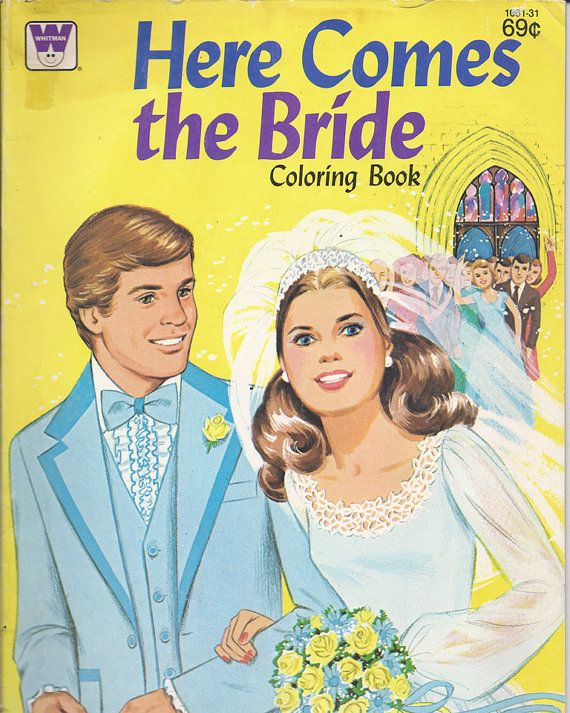 Cute Bride Coloring Book