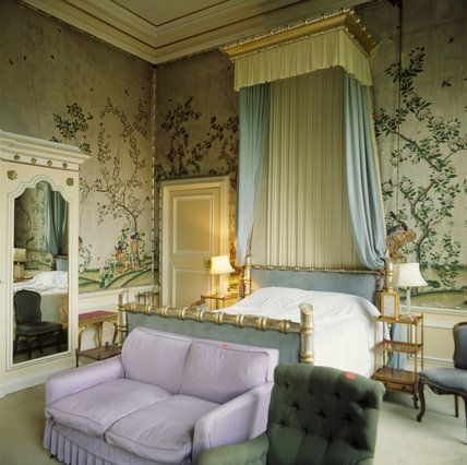 ... Room In The Private Flat At Belton House    Belton House    High  Quality Art Prints, Canvases, Postcards    National Trust Prints Bed Valance  Bedroom ...
