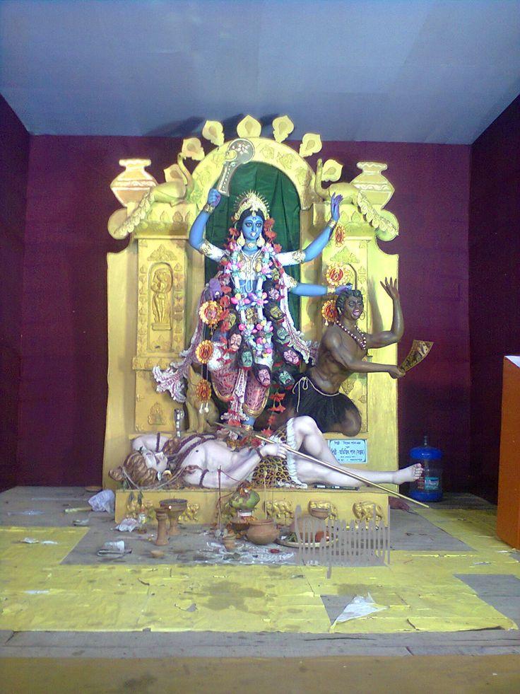 Kali Puja in Berhampore, West Bengal