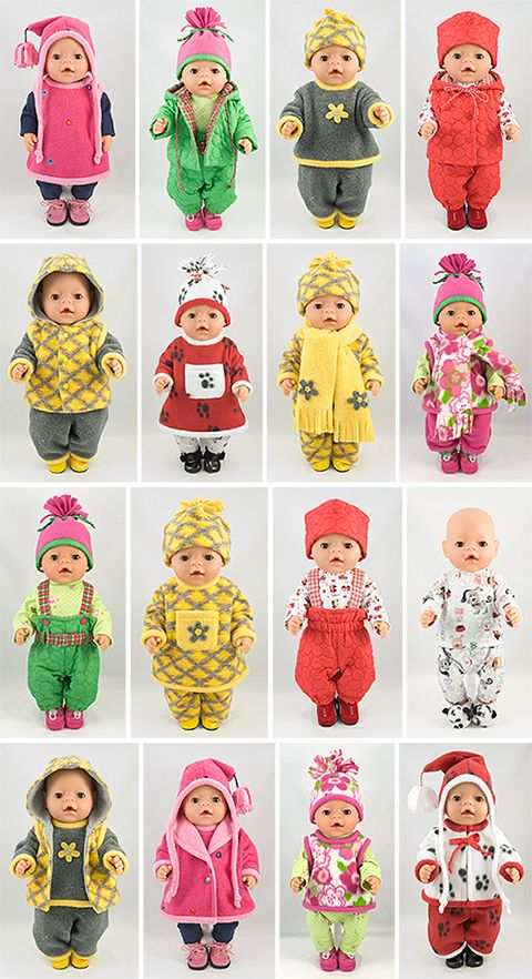 Snow Play - Baby Born Pattern