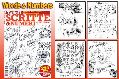 Words & Numbers Design for Tattoo Flash Design Book (66-pages) by WorldWide Tattoo Supply, http://www.amazon.com/dp/B004UWZGX0/ref=cm_sw_r_pi_dp_jdrrrb1XRZ9M9