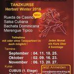 Neue Rueda de Casino Salsa Cubana & Bachata Dominicana Tanzkurse In Oktober  Mehr Salsa Bachata Kizomba Informationen auf salsastisch.de.