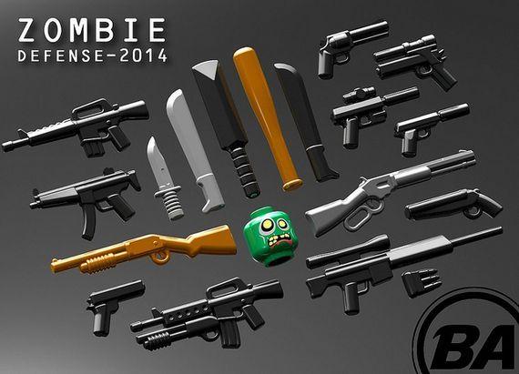 Pics Photos - Lego Zombie Apocalypse Gun Shop And Church S Chicken