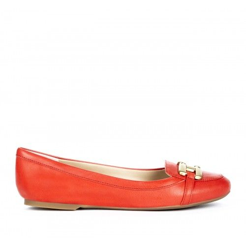 Angelina buckle loafer - Max Red
