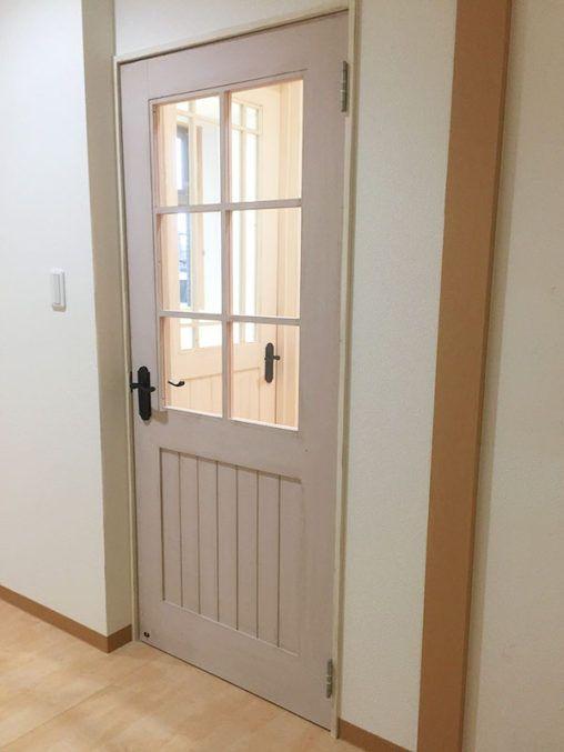 木格子ドア2 집 짓기 문