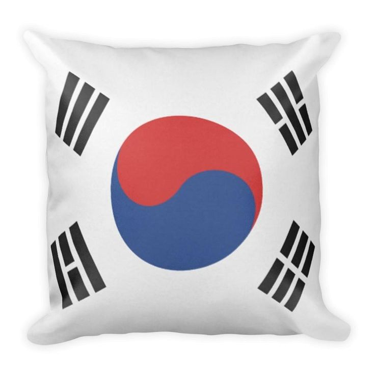 Pillow South Korea Flag x Flag Pillow