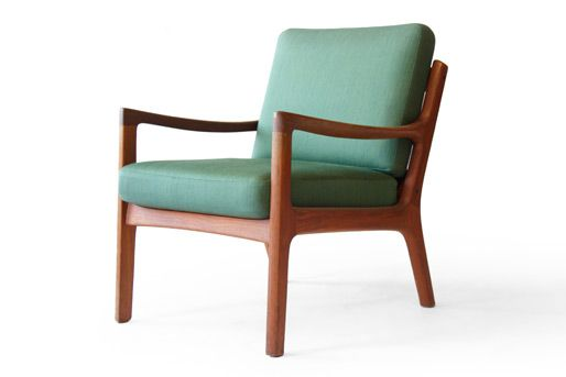 OLE WANSCHER #166 SENATOR FRANCE & SØN TEAK EASY CHAIRS
