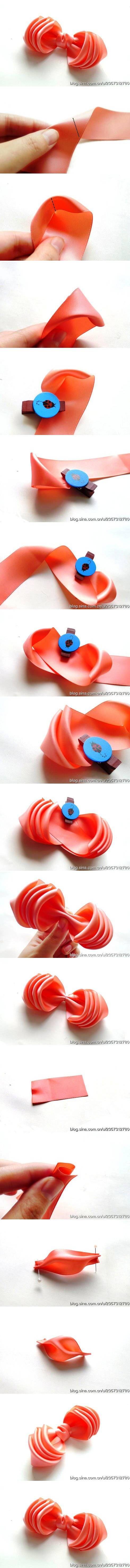 DIY Gorgeous Multi-layer Petals Bow