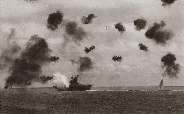 American Ww2 Planes >> U.S.S Yorktown battle of Midway | The battle of Midway. | Pinterest
