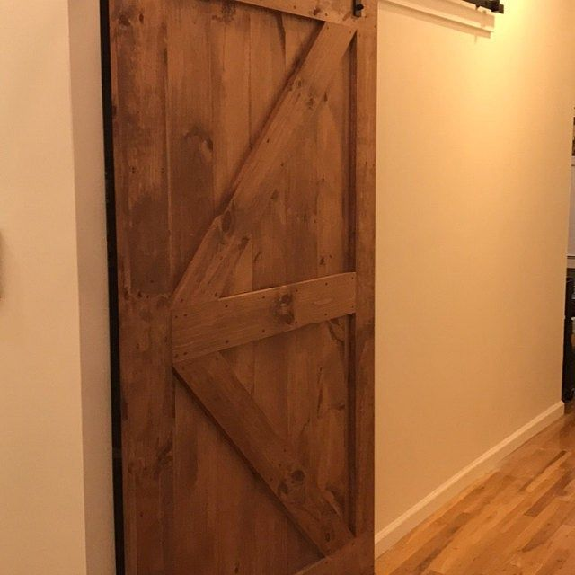 Custom Barn Door Z Brace With Border Rustic Barn Door Custom Barn Doors Barn Door