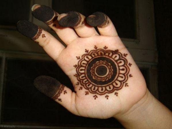 Easy Mehndi Designs For Kids On Eid.
