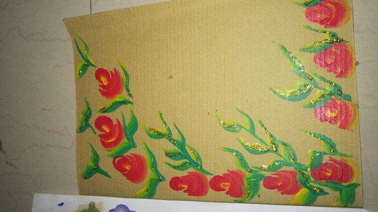 One stroke hand painted greeting cards for all occassions wedding, birthday part, festivals...customised on order
