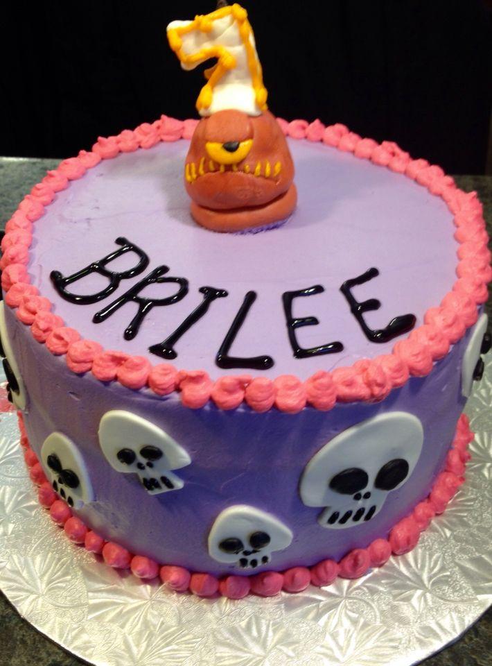Hotel Transylvania 2 cake for Brilee's 7th! #hoteltransylvania2 #cakes