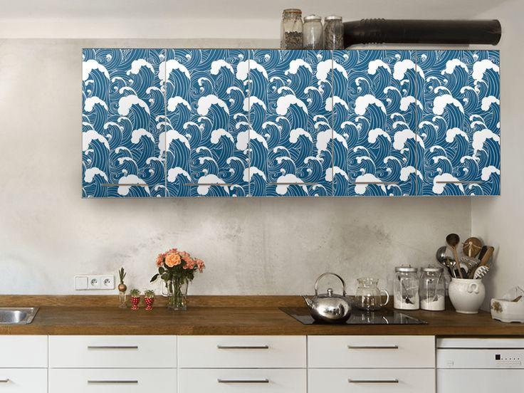 Küchenträume werden wahr! Küche folieren / bekleben / renovieren mit creatisto #Küchenfolien #DIY