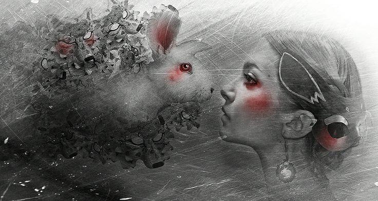Stefania Santarcangelo, SHARING OF SHADOWS, 2013, digital manipulation