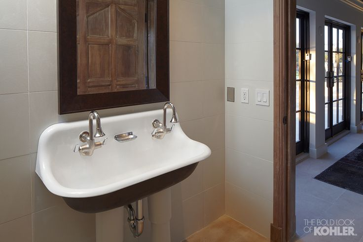 The bold look of the old my heart and house Kohler bathroom design services