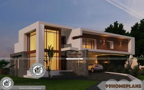 Urban House Plans Narrow Lot Double Floor New Contemporary Homes