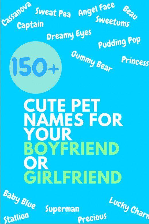 Cute dating names
