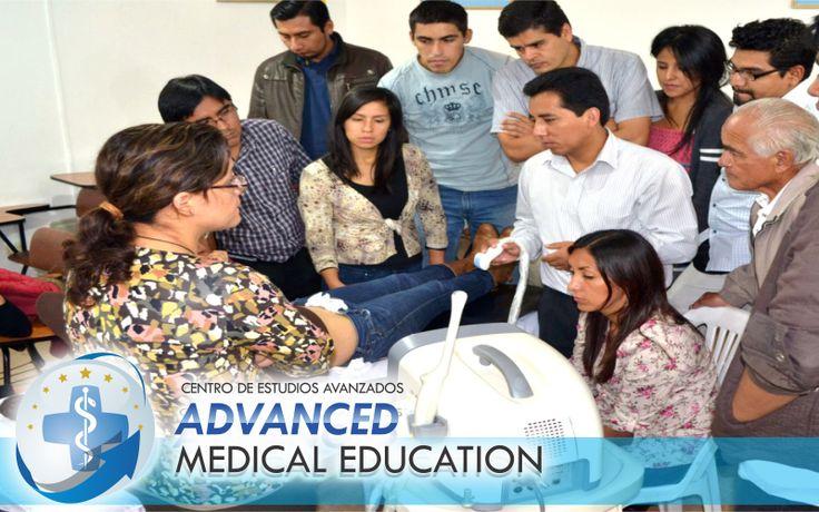"""Alumnos del Centro de Estudios Avanzados """"Advanced Medical Education"""" Taller - Teoría - Practica"""