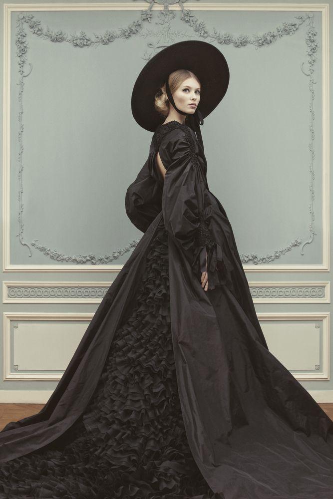Ulyana Sergeenko Couture Spring/Summer 2013 Lookbook   Photographer: Nick Sushkevich