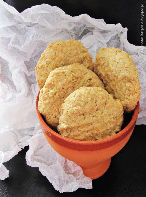 Biscoitos de aveia e queijo