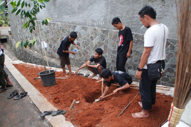 Persiapan Panitia Acara HUT Ormas Oi ke 14 di Leuwinanggung
