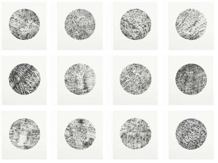 Rock Drawings, by Richard Long (1994)