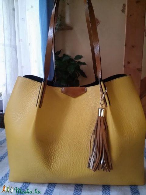 Sárga női shopper (fgabor1) - Meska.hu b1e9fe25c3