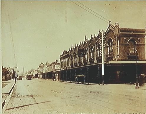 [Chapel Street, South Yarra, looking south]