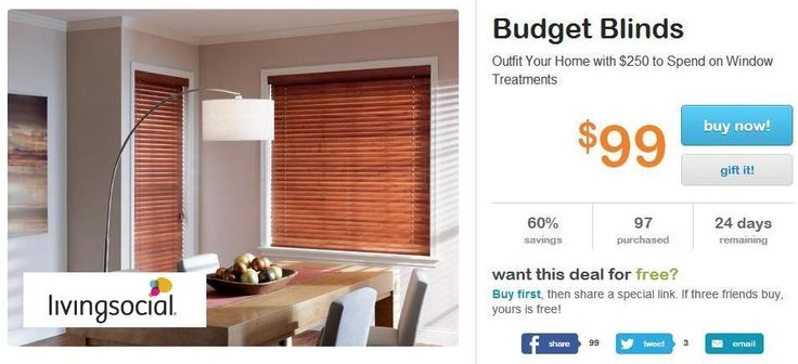 Budget blinds discount coupon
