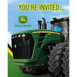 John Deere Invitations (8 Pack) | $3.49 | http://www.discountpartysupplies.com/boy-party-supplies/john-deere-party-supplies/john-deere-invitations.html