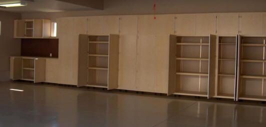 Tucson STS garage storage cabinets