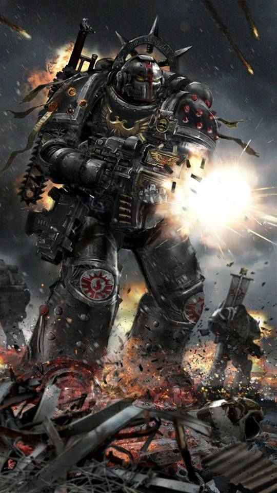 The Consecrators are a Successor Chapter to the Dark Angels dedicated to uncovering the secrets of the past.