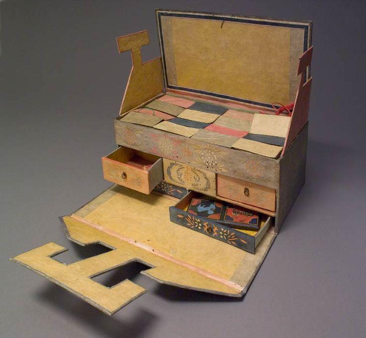 Korean Banjit Gori (sewing box), 19th century