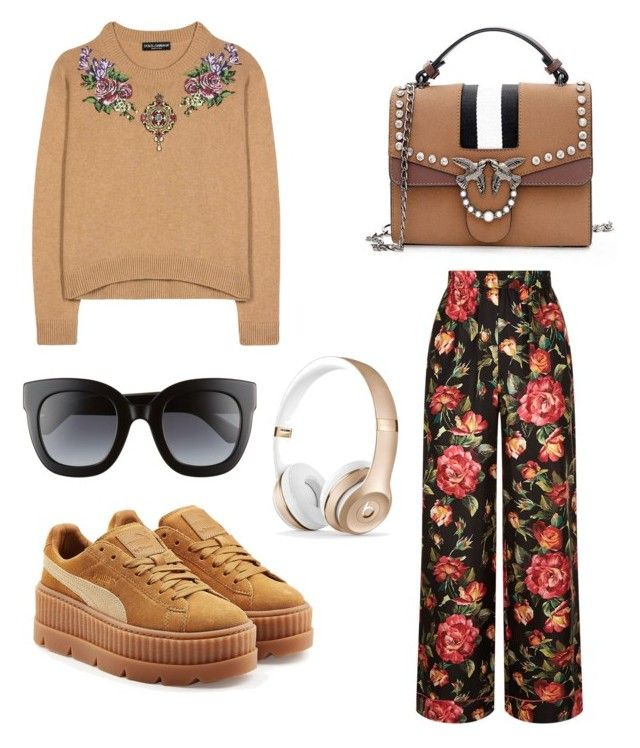 """Untitled #137"" by dariatamasan on Polyvore featuring Dolce&Gabbana, Puma and Gucci"