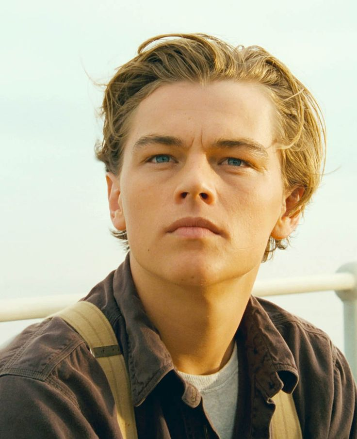 Titanic Jack (Leonard dicaprio) This was the first time I ...