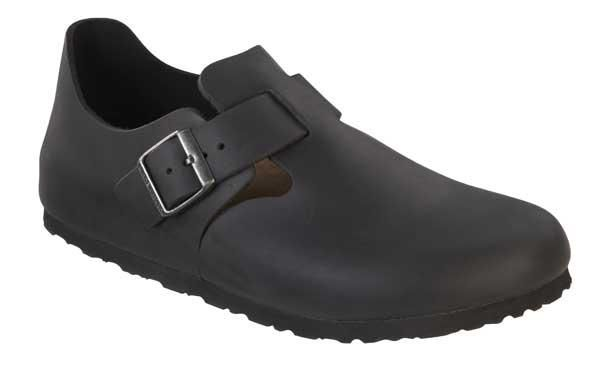 London Natural Leather Black 066961 - Birkenstock