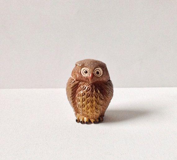 Ceramic Solid Clay Owl