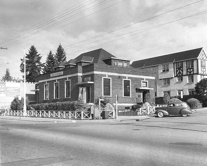 West Vancouver Post Office, West Vancouver- mid 1950's