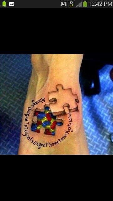 Autism Awareness Tattoo!