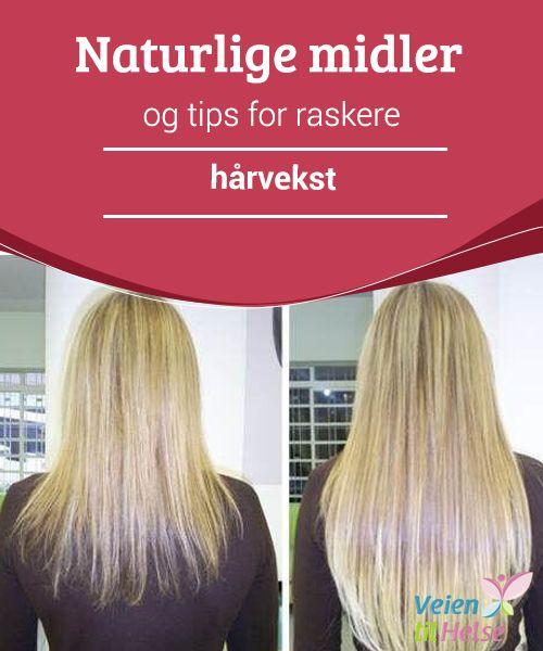 Naturlige midler og tips for raskere hårvekst  Ved å bruke løk i #sjampoen vi vanligvis bruker, vil vi fremme blodsirkulasjonen i #hodebunnen vår, styrke #håret og få det til å vokse #fortere.
