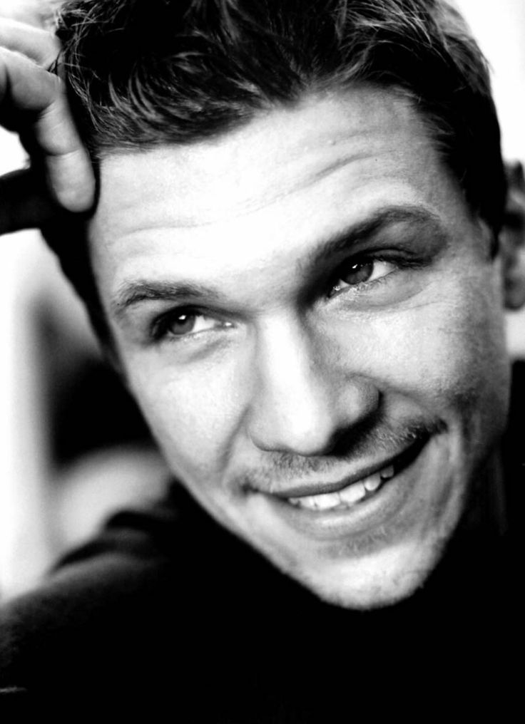 "So I just re-watched that old movie ""First Daughter"" and have decided that Marc Blucas is kind of adorable...maybe it's just his character, but still...."