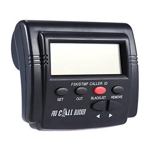 Docooler CT-CID803 Boîte d'identification de l'appelant Bloqueur Appel Stop Nuisance Calls Devices Identification de l'appel Écran LCD avec 1500 numéros Capacité d'arrêt Tous les Appels à Froid #Docooler #Boîte #d'identification #l'appelant #Bloqueur #Appel #Stop #Nuisance #Calls #Devices #Identification #l'appel #Écran #avec #numéros #Capacité #d'arrêt #Tous #Appels #Froid